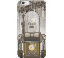 Steampunk Robot iPhone Case/Skin