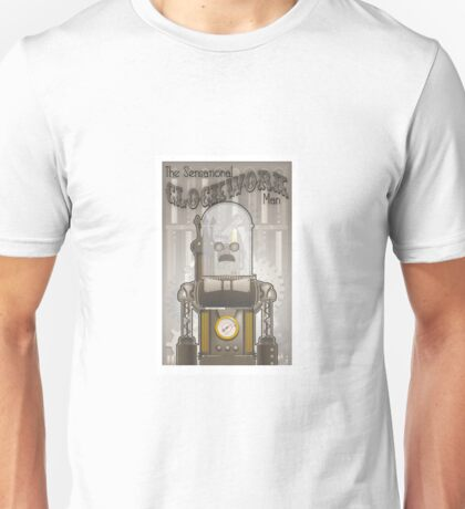 Steampunk Robot Unisex T-Shirt