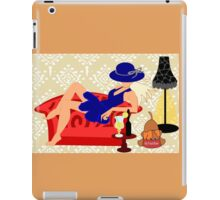 Relaxed on a Couch (8608  Views) iPad Case/Skin