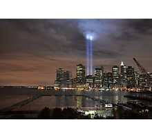 Downtown Manhattan - 9-11-2009 Photographic Print