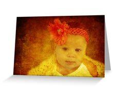Precious Little Angel Greeting Card