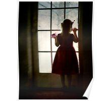 Little Girl, Little Girl - at the door Poster