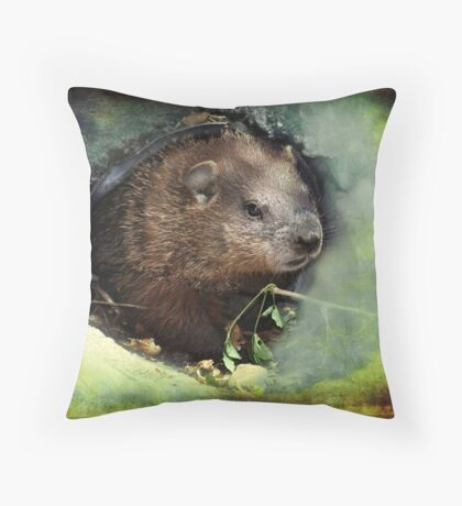 My Little Buddy  Throw Pillow