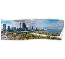 Perth - Panorama Poster