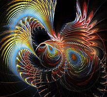 Disc-Julian # 2 - Peacock Feathers by sstarlightss