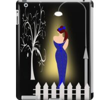 A lady returning from a party (7701 Views) iPad Case/Skin