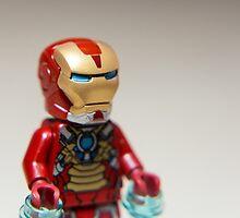 Iron Man Stare by garykaz