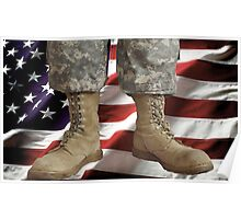 An American Hero Poster