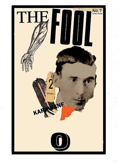 Dada Tarot-The Fool by Peter Simpson