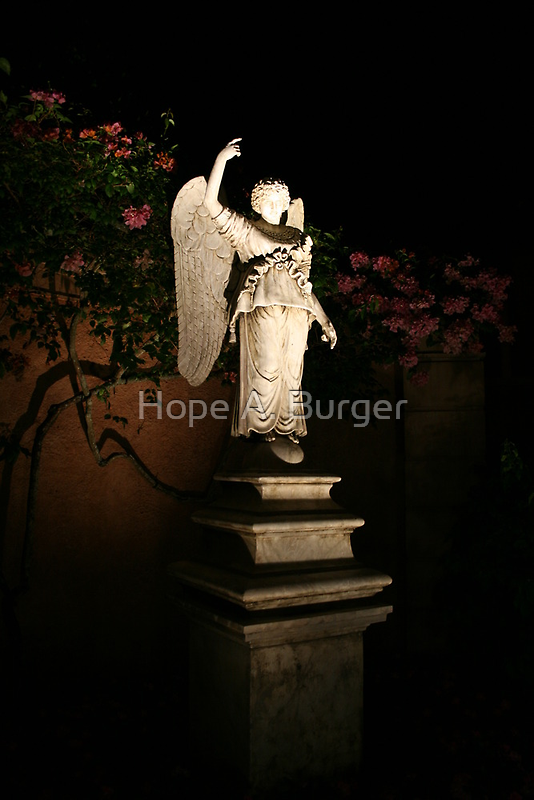Angel at Night by Hope A. Burger