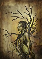 Dark Dryad by AlexKujawa