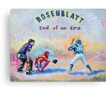 Rosenblatt: End of an Era Canvas Print
