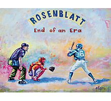 Rosenblatt: End of an Era Photographic Print