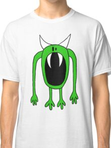Big Mouth Green Monster  Classic T-Shirt