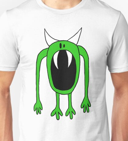 Big Mouth Green Monster  Unisex T-Shirt