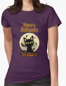 Happy Halloween 2 Womens Fitted T-Shirt