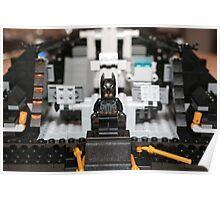 Mid Tumbler Build with Batman Poster
