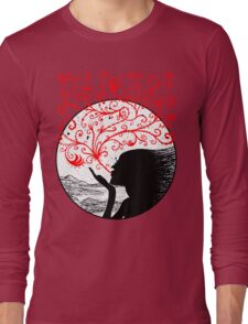 Breath of Beauty Long Sleeve T-Shirt