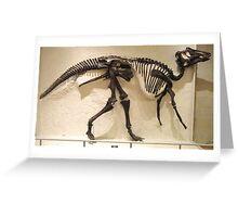 Strong Maiasaura Greeting Card