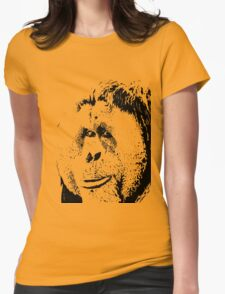 Cheeky Orangutan Womens Fitted T-Shirt
