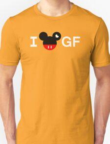 I Mickey GF [For Men] Unisex T-Shirt