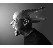 Reptilian Thoughts, Draconian Actions Photographic Print