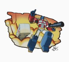 Prime Time Tee - Optimus by Mike Victa