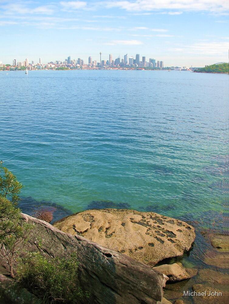 Sydney Across Port Jackson by Michael John
