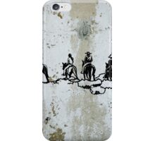 Western Cowboys Indians Horses iPhone Case/Skin