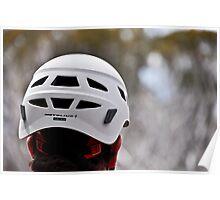 Met Helmet Poster
