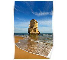 Ocean Rock View Poster