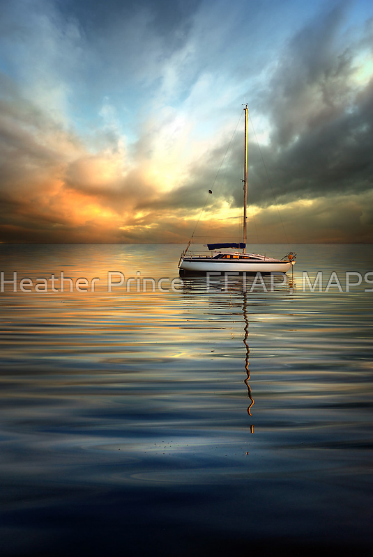 Dramatic Evening by Heather Prince