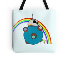 Royal Rainbow BB-8 Tote Bag