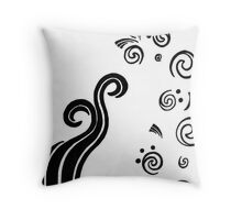 Contrast with Line Throw Pillow