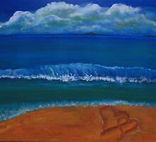 Hearts in the Sand by Christine Clarke