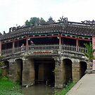 Ancient Japanese bridge, Hoi An, Vietnam  by John Mitchell