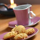 Almond Cookies For Espresso Time by SmoothBreeze7