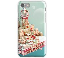 Muted City - Low Poly Landscape iPhone Case/Skin