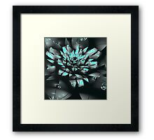 Mysterious Flower Emerging Framed Print
