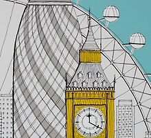 London Landmarks by Adam Regester
