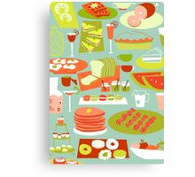 Big Breakfast Canvas Print