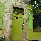 Green Door - Cordes-sur-Ciel, FRANCE by Jamie Alexander