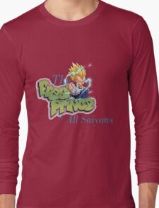 vegeta prince dbz Long Sleeve T-Shirt