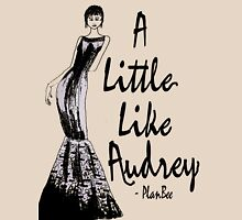 A Little Like Audrey Womens Fitted T-Shirt
