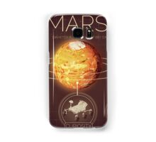 Planet Mars Infographic NASA Samsung Galaxy Case/Skin