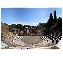 Large Theatre - Pompeii Poster