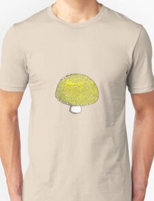 Sunshine Yellow Mushroom, Shroom, Fungus Unisex T-Shirt