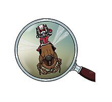 Ant Man logo Photographic Print