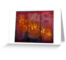 """""""Fire"""" Greeting Card"""