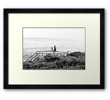 Competition ? Framed Print